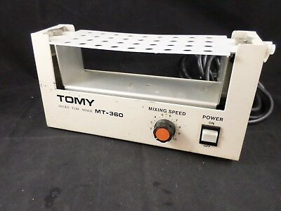 Banstead Thermolyne TOMY MT-360 Micro Tube Mixer Shaker Variable 36-Position
