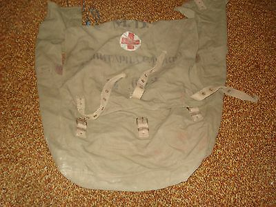 WWII Royal Bulgarian Army Canvas Medical supply Pack, for Jeeps/Trucks