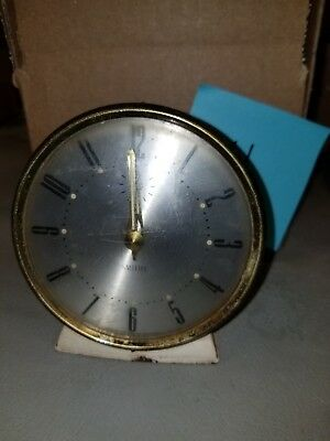 Vintage Retro Mid-Century Smiths Alarm Clock Does Not Work Great Britain #141