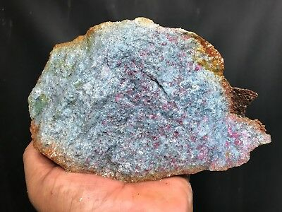 New!! Aaa Top Quality Ruby In Blue Kyanite Rough - 4 Pounds - From India