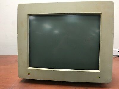 Apple High Resolution Monochrome Monitor Model M0400 Manufactured 1987 OO156