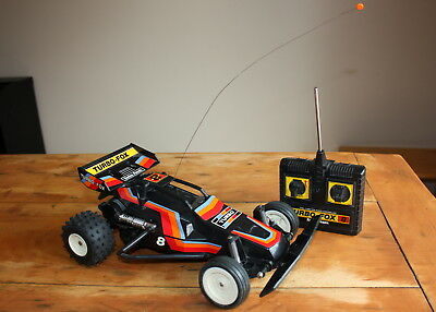Vintage 1980s RadioShack Turbo-Fox 8 Remote Controlled Car - Exc, but read desc.