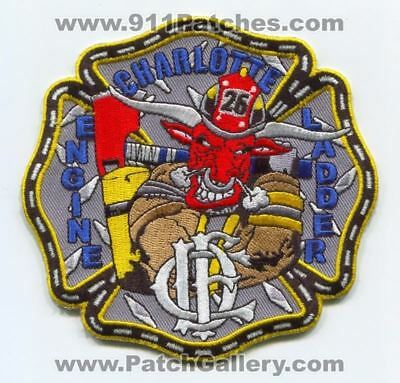 Charlotte Fire Department Station 26 Patch North Carolina NC
