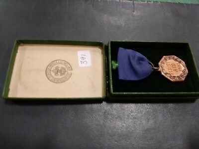 1935 Boy Scout Contest Medal, First Aid, District Champs, Bronze Medal With BSA