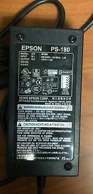 Genuine Original Epson PS-180 Power Supply With Power Cord M159A