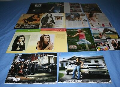 HUGE LOT of 15+ GRETCHEN WILSON Magazine Article Photo Clippings