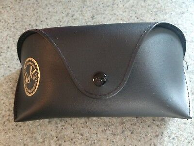 Ray Ban Sunglasses​ Soft Case Protective Travel Carrier Pouch w/Belt Loop Black