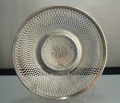 Frank Whiting Sterling Silver Reticulated Plate  52871