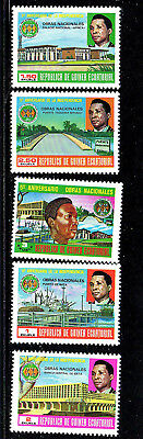 Equatorial Guinea #27-31  1979  Indepenence 5Th Anniv.   Mint  Vf Nh  O.g