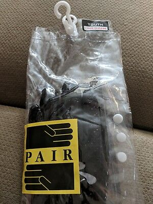 New in Package Black Youth Medium Boombah Batting Gloves