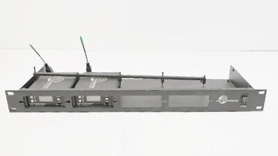 (2) Lectrosonics IFBT4 IFB T4 UHF Wireless Transmitter (Block 25 GN 640-665 MHz)