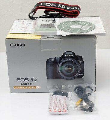 Canon EOS 5D Mark III Camera + battery grip, 2 batteries, extras, bared used!!!