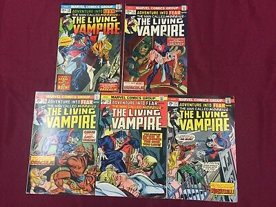 Adventure into Fear #20-27 Lot First Solo Morbius 7.0 FN/VF B@@yah!