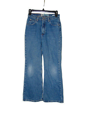 Pre Owned Faded Gory Basic Flare Jeans Size 12 Youth