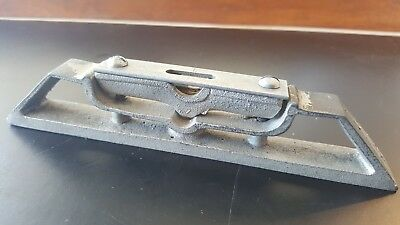 "Vintage 6-1/4"" Adjustable Torpedo Level - All Steel"