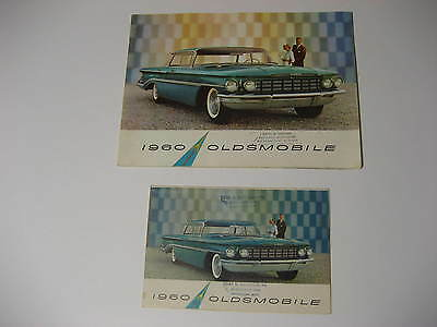 1960 Oldsmobile Brochures....Lot of Two