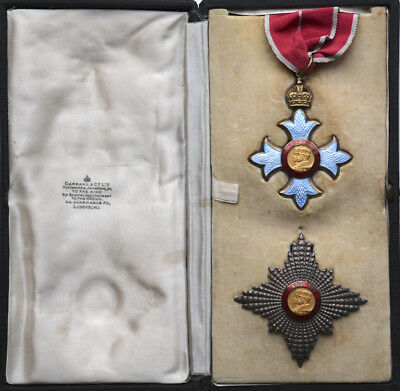 The Most Excellent Order of the British Empire K.B.E. Knight Commander - Militar