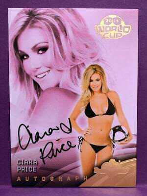 BenchWarmer 2014 World Cup Soccer Ciara Price Authentic Autograph Insert #3