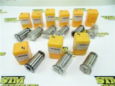 "Nice! Lot Of 9 Gs 1"" Bushings 1/8"" To 7/8"""