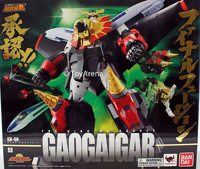 Soul of Chogokin Gao Gai Gar GX-68 GaoGaiGar Action Figure Bandai IN STOCK USA
