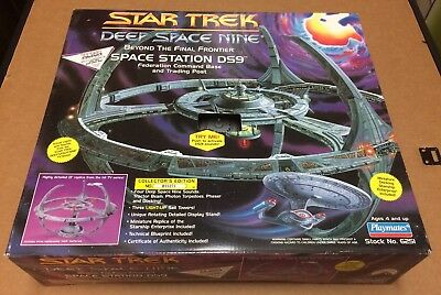 1994 Playmates Star Trek Deep Space Nine Space Station DS9 Command Base SEALED