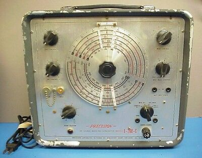 Precision E-200-C Signal Generator Division of Dynascan Works RF Mod and Unmod