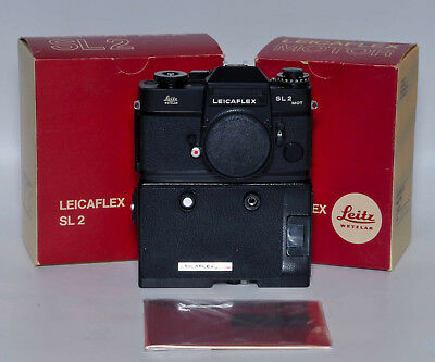 Leica, Leicaflex Sl2 Mot & Motor Drive, Instructions, Boxed, & Fully Tested!