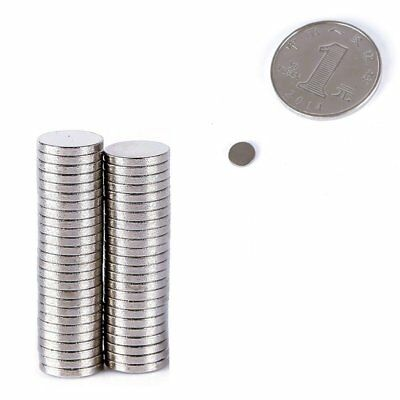 100Pcs Super Strong Round Disc Magnets Rare-Earth Neodymium Magnet N35 10 x 2 mm
