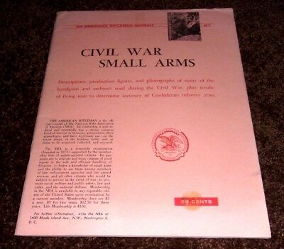 Civil War Small Arms,confederate Infantry,american Rifleman,illustrated