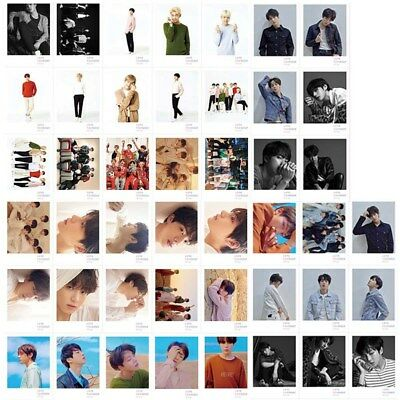 45pcs/set Kpop BTS Bangtan Boys LOVE YOURSELF Tear HD Photo Cards Lomo Cards New