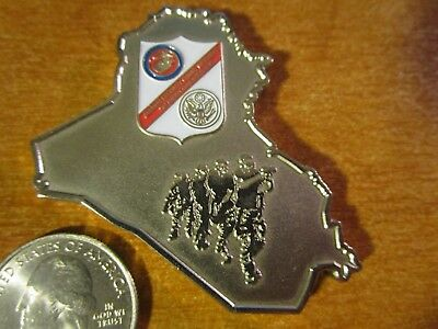 Marine Security Guard Battalion Detachment Baghdad Iraq USMC MSG Challenge Coin