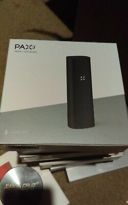 Pax 3 MATTE BLACK NEW SEALED IN BOX 100% AUTHENTIC W/WARRANTY!*BASIC KIT*