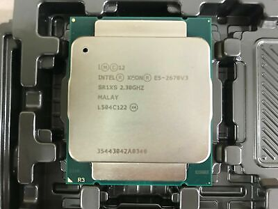 Intel Xeon E5-2670 V3 SR1XS @2.30Ghz 12 Core Server CPU