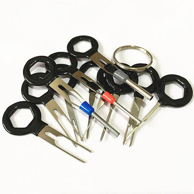 Terminal Removal Car key Tool Wiring connector Pin Release Extractor Puller