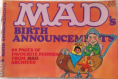 """COLLECTABLE -  COMIC """"MAD"""" C.1980's"""