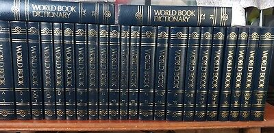 The World Book Encyclpedia 24 book set(hard cover)
