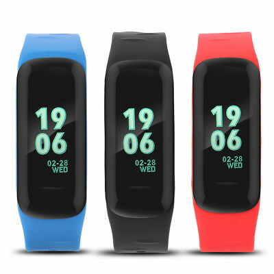 New Bluetooth Blood Pressure Monitor Smart Bracelet Watch For iOS and Android