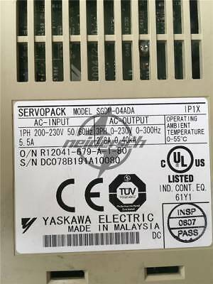 Yaskawa Used SGDM-04ADA Servo Drive Tested