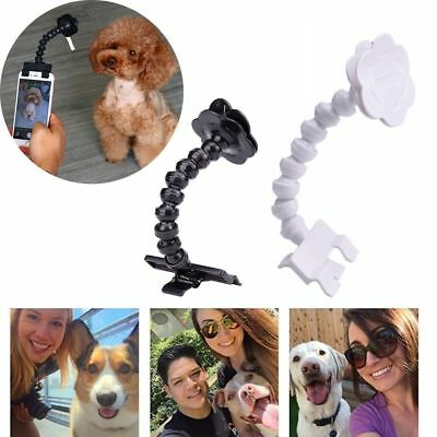 Pet Training Selfie Stick Toy Dog Take Photo  Flexible Funny Mobile Phone clip