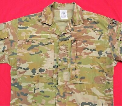 Current Australian Army Multicam Camouflage Uniform (Amcu) Combat Shirt