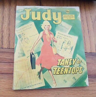 JUDY PICTURE STORY LIBRARY FOR GIRLS No.209 TANSY OF TEENTOTS