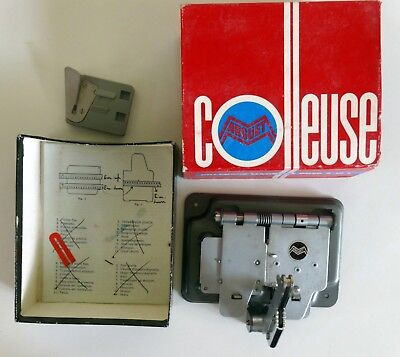 Colleuse Marguet. Super 8 splicer / editing gadget. Boxed with instructions