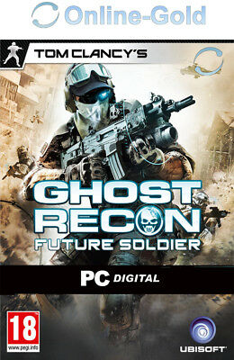 Tom Clancys Ghost Recon Future Soldier Key PC Ubisoft Spiel - USK ab 18 [DE/EU]
