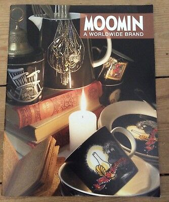 Moomin anniversary promotional booklet, new