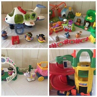 Fisher Price Little People Bulk House Construction Fair Circus Zoo