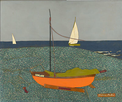 Diana Parker (1917-1971) - Signed Mid 20th Century Mixed Media, Nautical Collage