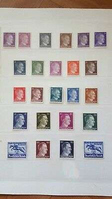 Stamps Germany Reich Postal History Nice Lot Cf/23