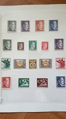 Stamps Germany Reich Postal History Nice Lot Cf/24