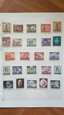 Stamps Germany Reich Postal History Nice Lot Cf/26