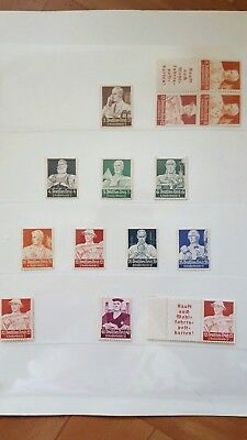 Stamps Germany Reich Postal History Nice Lot Cf/34